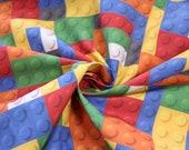 Cotton, colorful, building blocks