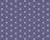 Interlock Jersey, Westphalian Fabrics, Blue White, Stars