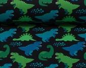 Cotton, Kim, Dinosaur, Green/Blue/Black