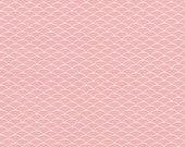 Cotton, Westphalian fabrics, Kyoto, white old pink, wave