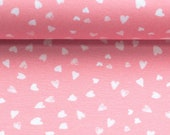 Jersey, Lisbet, Pink, White Hearts