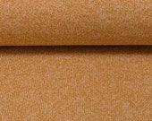Knit, mustard yellow mottled