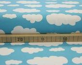 Jersey, light blue, clouds
