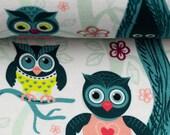 Jersey, white, petrol, owls