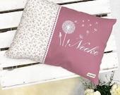 "Pillow ""Neeke"", name cushion, cuddly pillow"
