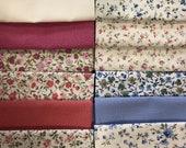 Cotton, fabric package, westphaliafabrics, patchwork, mini fleurs/Renforce