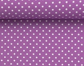 Cotton Judith 644, purple dotted, dots 2 mm