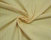 Cotton, white-tched yellow striped, stripes