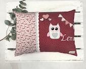 "Pillow ""Lena"", name cushion, cuddly pillow"