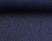 Canvas, decorative fabric Rome 1259, dark blue melted