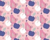 Jersey, pink, apple, pear, old pink white blue