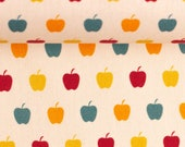 Cotton, Timo, beige, apple, orange-red-mint-yellow