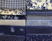 Cotton, Fabric Package, Westphalian Fabrics, Patchwork, Delft