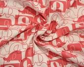 Cotton, pink, elephant