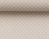 Cotton, Judith 170, beige dotted, dot2 mm