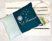 "Pillow ""Larissa"", name pillow, cuddly pillow"