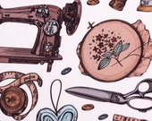 Cotton, Kim, Tailor motifs, sewing