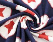 Jersey, dark blue, white, red stars
