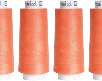 Troylock 120 2500 m, overlock yarn, salmon