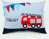 """Pillow """"Oskar"""", name cushion, cuddly pillow"""