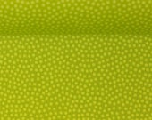 Cotton, light green/green spotted