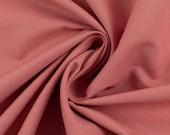 Cotton, heath 435, plain, old pink