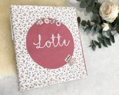 "Kindergarten folder sleeve, portfolio sleeve ""Lotte"""