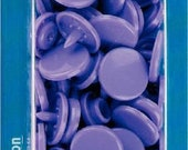 """Prym sewing-free snaps """"Color Snaps"""", round, 12.4 mm, lilac, lavender"""