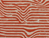 Jersey, Benno, rust/terracotta, stripes