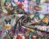 Decorative fabric, canvas, colorful, elephant, goa
