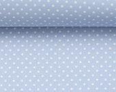 Cotton, Judith 251, light blue dotted, dotting 2 mm