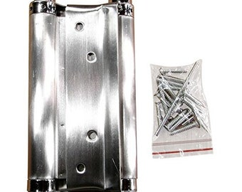 Double Action Spring Hinge Single Hinge Zinc Finish 3 inch Indoor and Outdoor Use