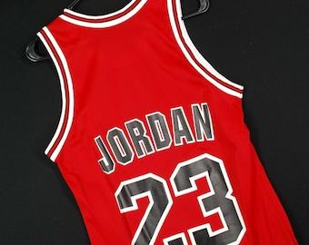 c5d8583df59 Vintage 90s Champion MIchael Jordan Jersey NBA Chicago Bulls Mens Small 36