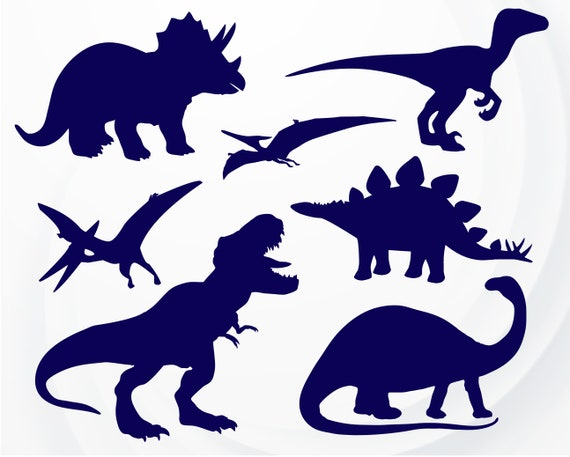 Download Dinosaur SVG T-Rex SVG file for Cricut Dinosaur Silhouette ...