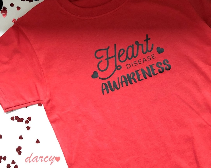 Heart Disease Awareness Children's Charity Tshirt