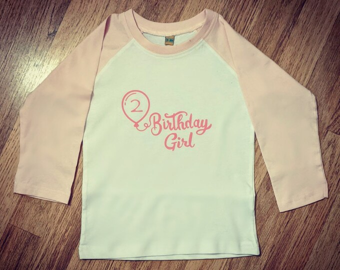 Custom Birthday Girl/Boy Children's Tshirt