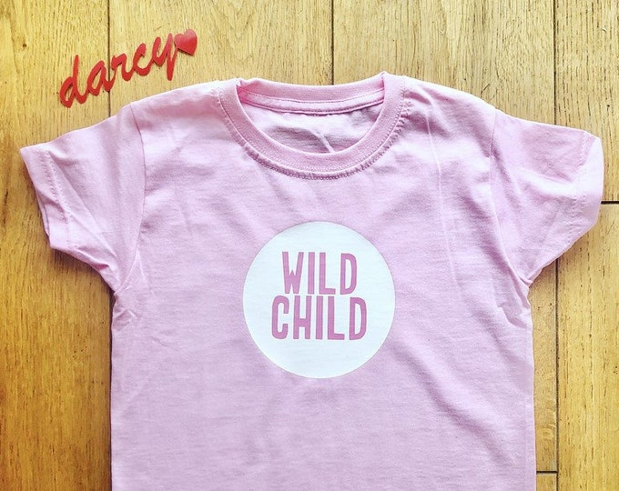 Wild Child Children's Tshirt