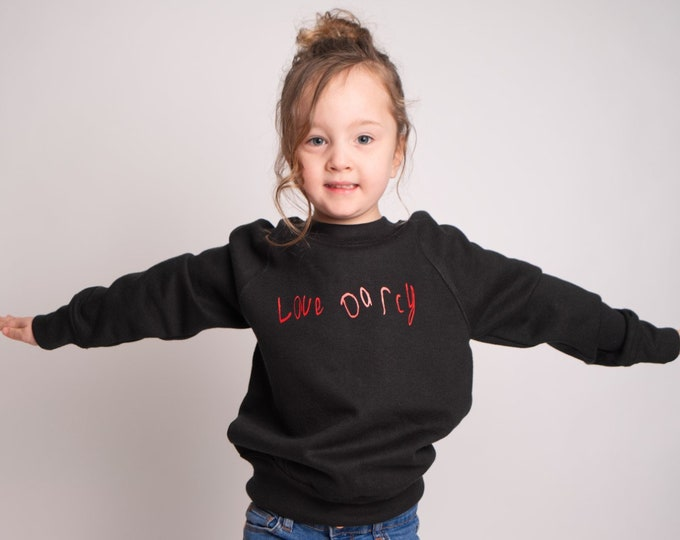 Children's LoveDarcy sweatshirt (Available in other designs)