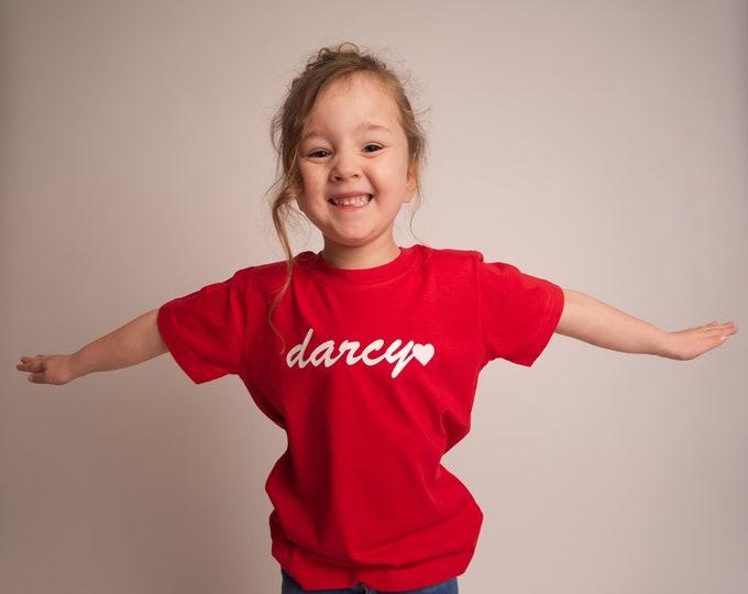 Children's Darcy logo tshirt