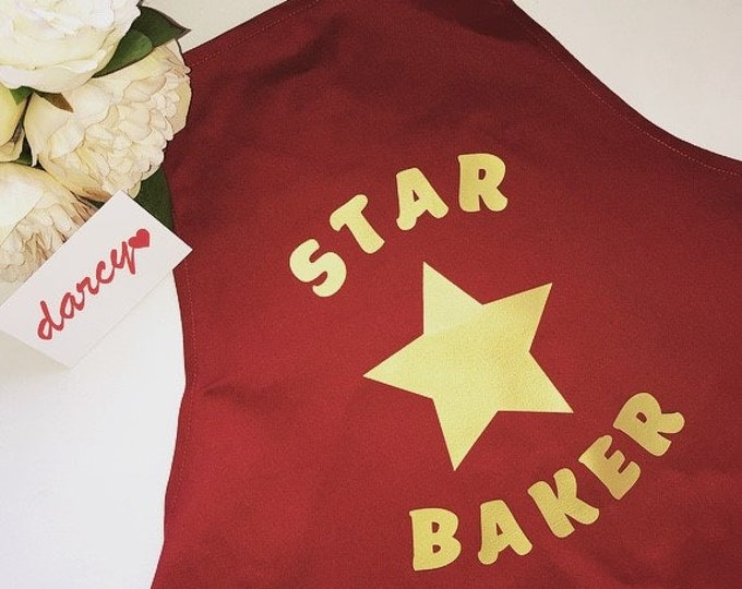 Star Baker Children's Apron