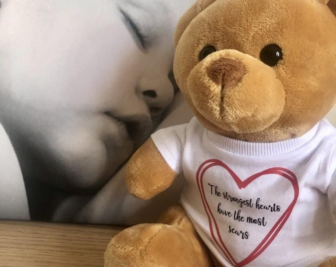 The Darcy Bear - CHD/Heart Surgery/Heart Awareness Bear