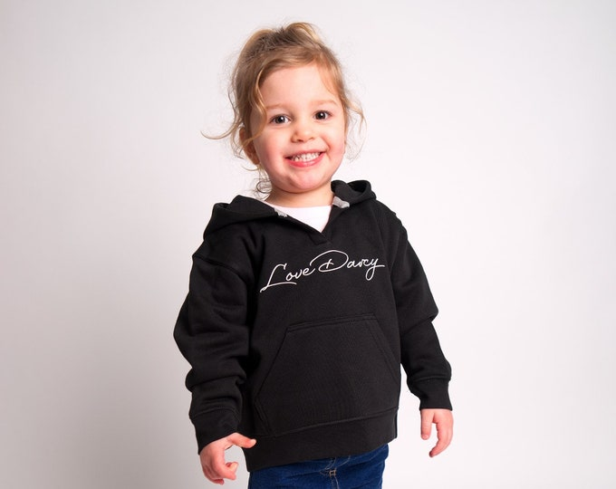 Children's LoveDarcy hoody (Different designs available)