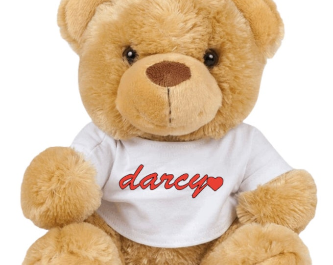 The Alfie James Bear - Original logo Teddy Bear