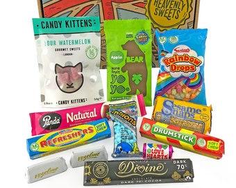American Vegetarian Candy Box Hamper American Vegetarian Etsy