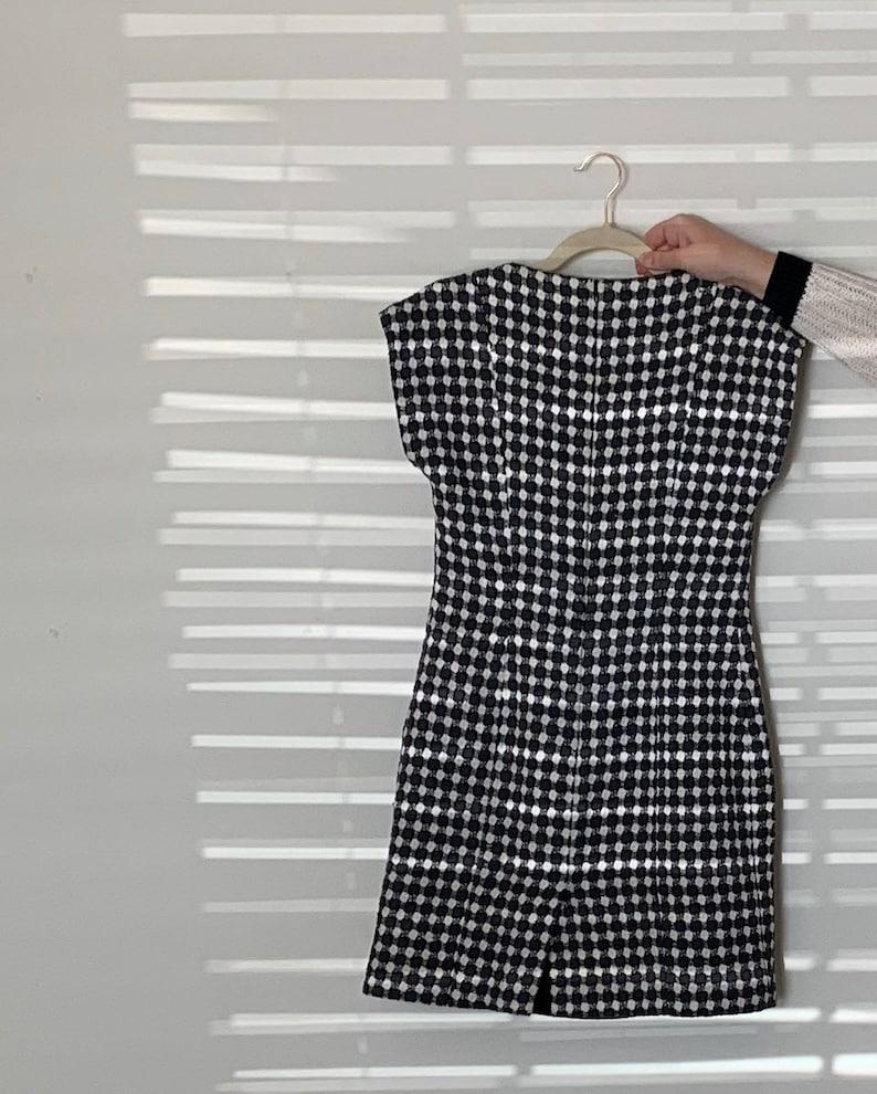 Vintage 1960s Checkered Dress