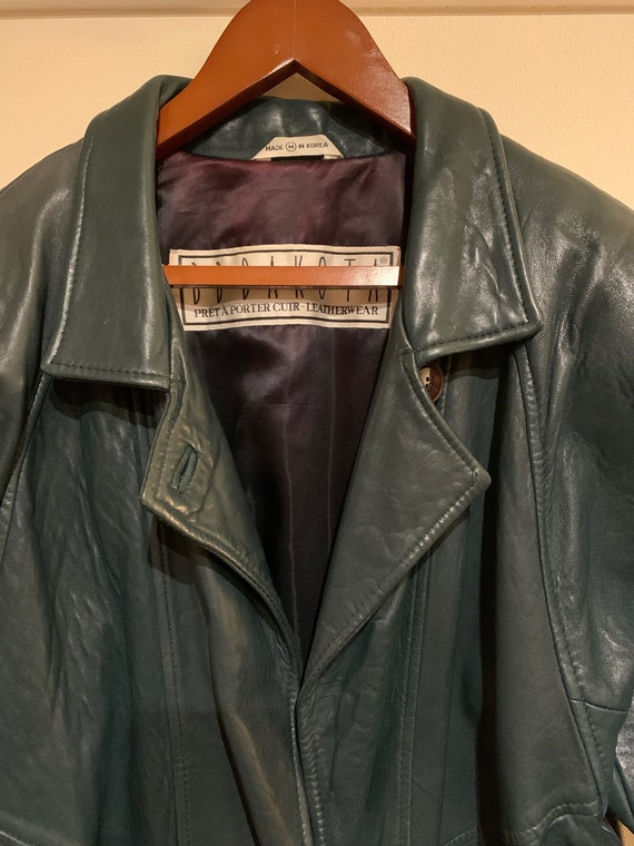 Gorgeous Green Trench Coat, Womens Baggy Trench Co