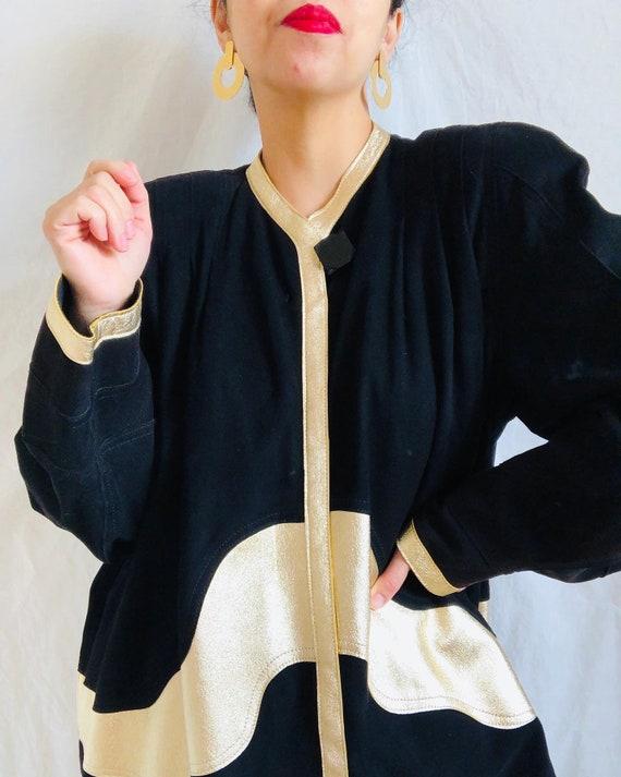 Vintage Jean Muir Suede Jacket