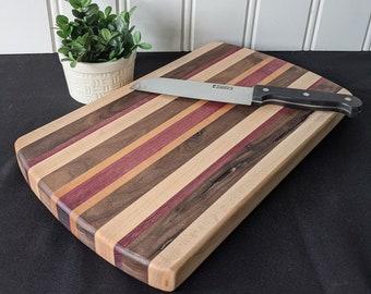Large Mulberry Style Hardwood Cutting Board