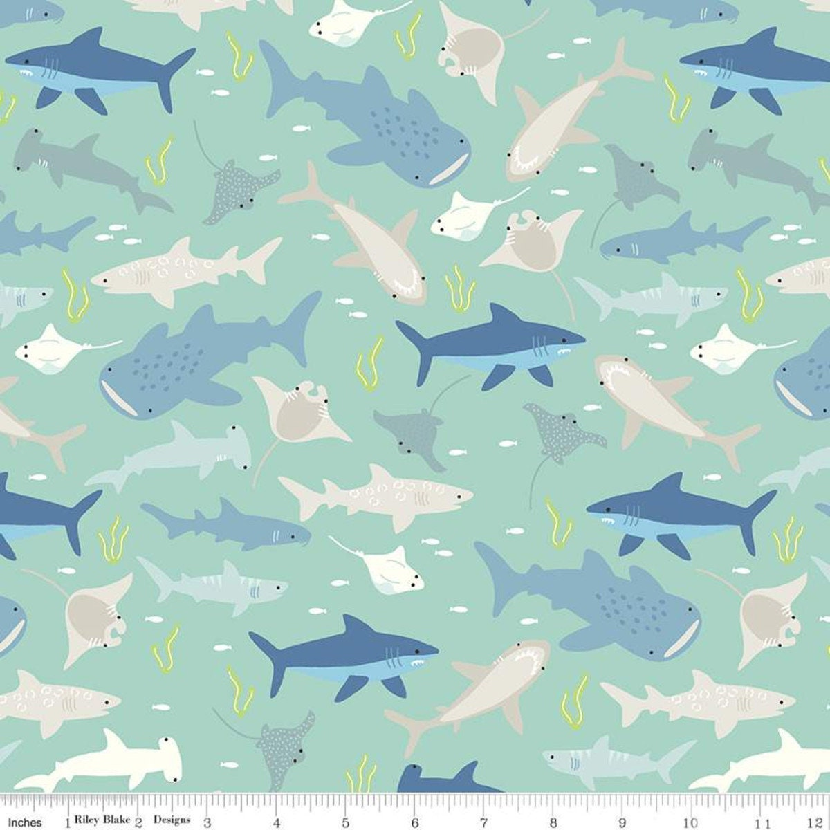 by Citrus /& Mint Designs for Riley Blake 42 pcs Layer Cake Riptide