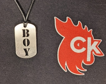 Boy Dog Tag